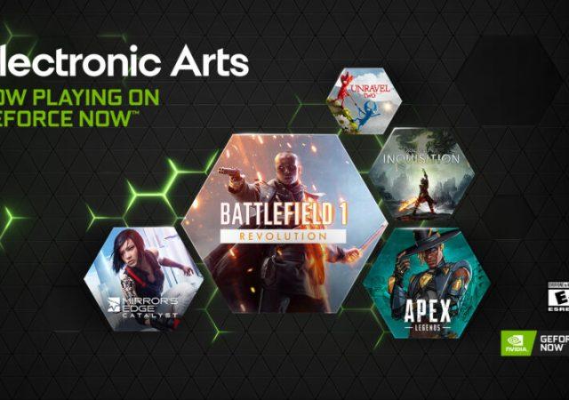 EA Games Streaming on GeForce NOW