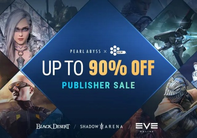 Pearl Abyss and Developer CCP Games Host Massive Steam Sale