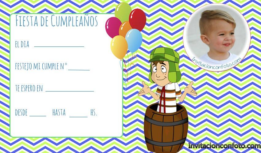 tarjetas cumpleaños chavo animado