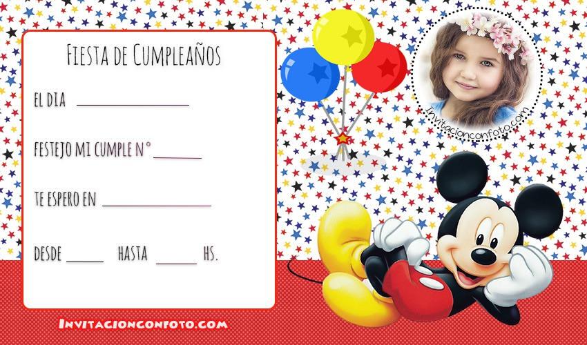 tarjetas de cumpleanos infantiles con foto