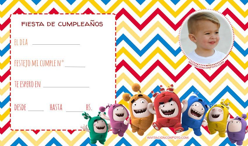 Invitaciones Con Foto Gratis Invitaciones De Cumpleaños Infantiles Con Foto