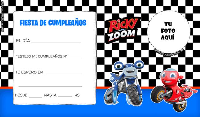 Convite Ricky Zzoom