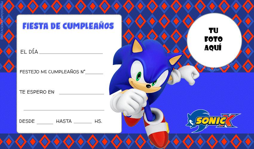 Convite Sonic