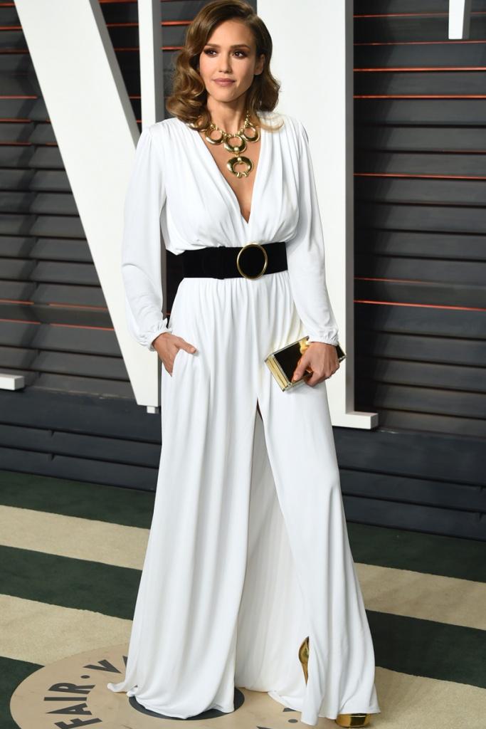 Alfombra roja Oscars 2016 Jessica Alba