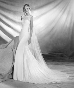 Vestido de novia modelo Orestes de Pronovias 2017