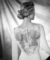 Vestido de novia modelo Orquidea de Pronovias 2017