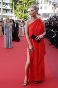 Kate Moss de Halston en Cannes 2016