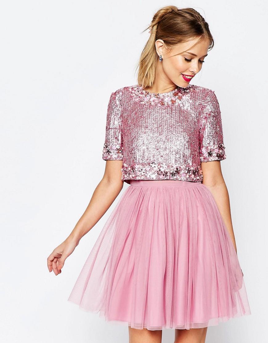 Hermosa Boda De La Falda Vestido De Tul Regalo - Ideas de Vestido ...