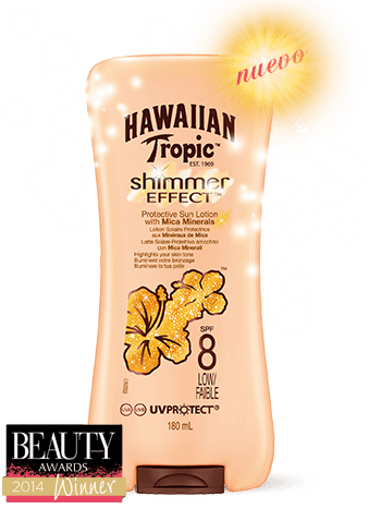 Protector solar Hawaiian Tropic brillo