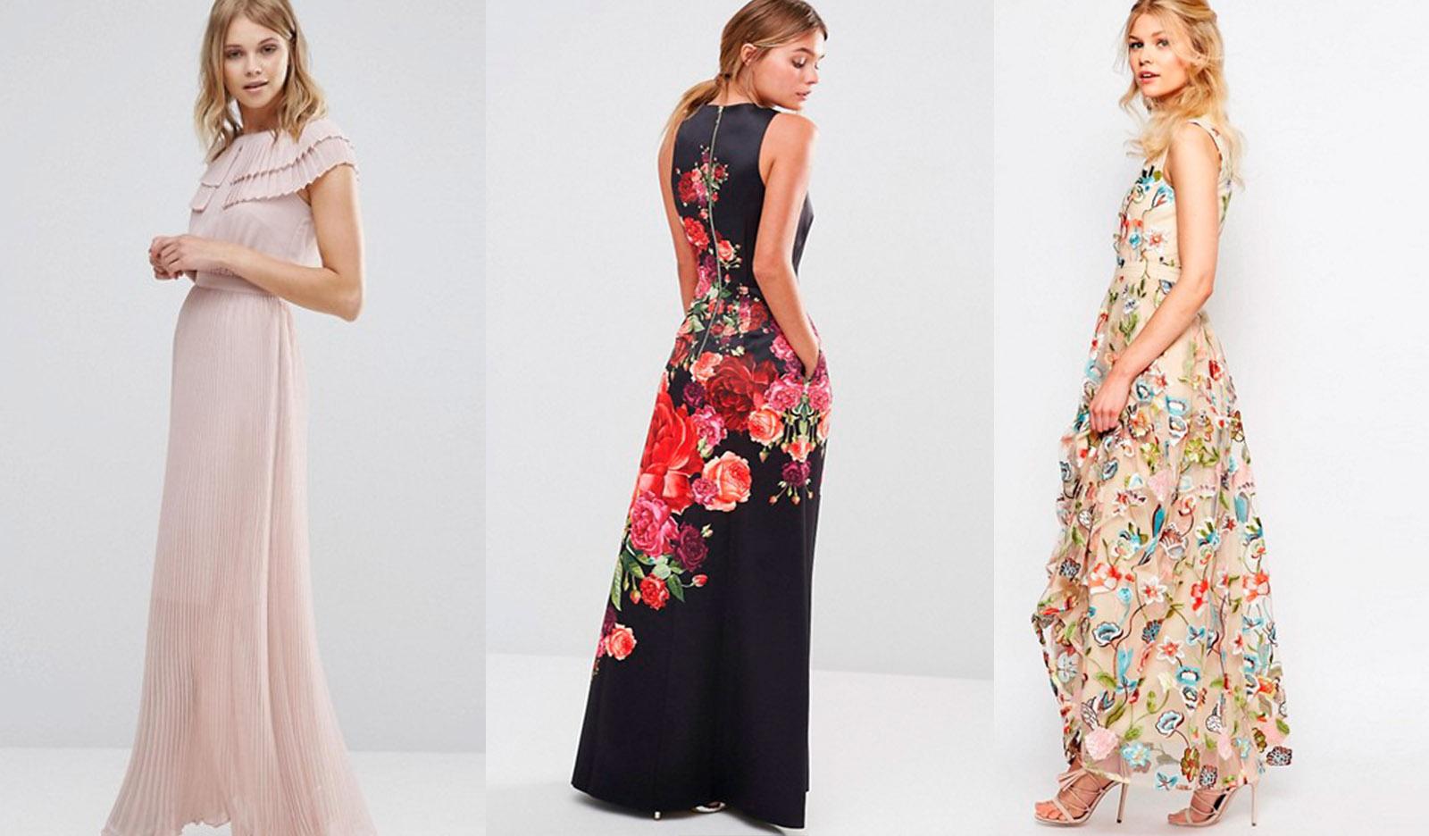 Imagenes de vestidos para boda en la tarde