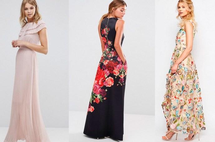 la mejor actitud 907f3 bd8ff 20 vestidos de Asos para bodas de noche | Invitada Perfecta