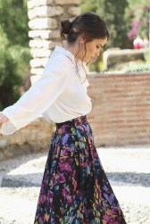 Look comunion falda blusa