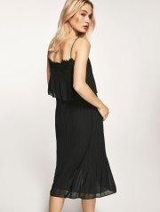 Vestido negro invitada boda lowcost