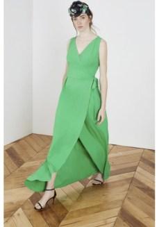 Vestido verde invitada boda lowcost