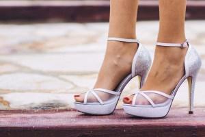 Sandalias plata Membur invitada boda