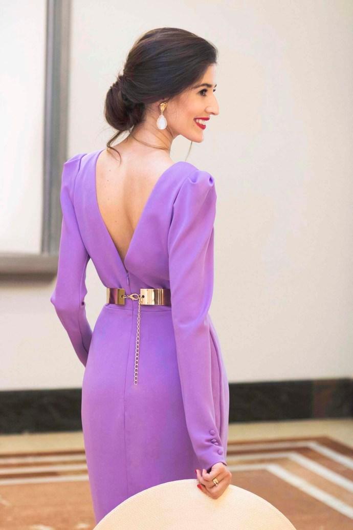 Invitada boda de día: el vestido lila | Invitada Perfecta