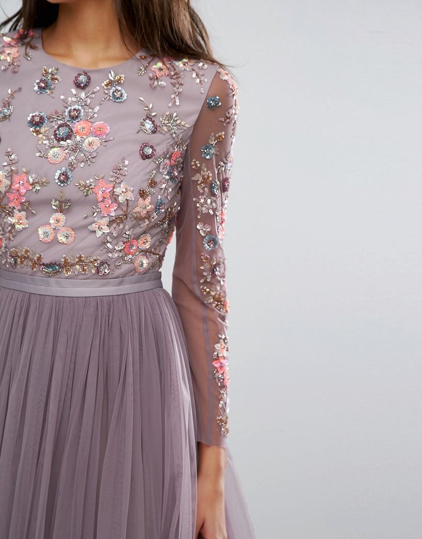 vívido y de gran estilo moda atractiva cómo hacer pedidos Asos vestido tul manga larga boda 2 – Invitada Perfecta by ...