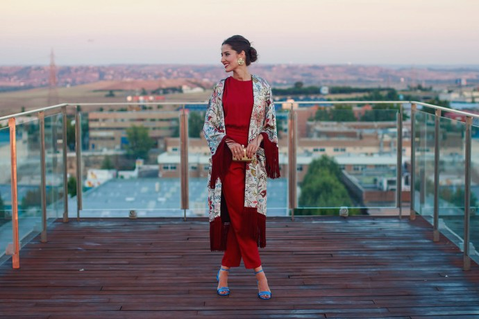 bedef6747a84 Look invitada BBC: mono + kimono lowcost | Invitada Perfecta