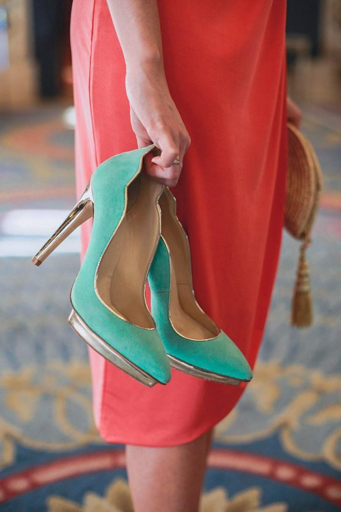 Zapatos fiesta invitadas personalizados plataforma Just Ene