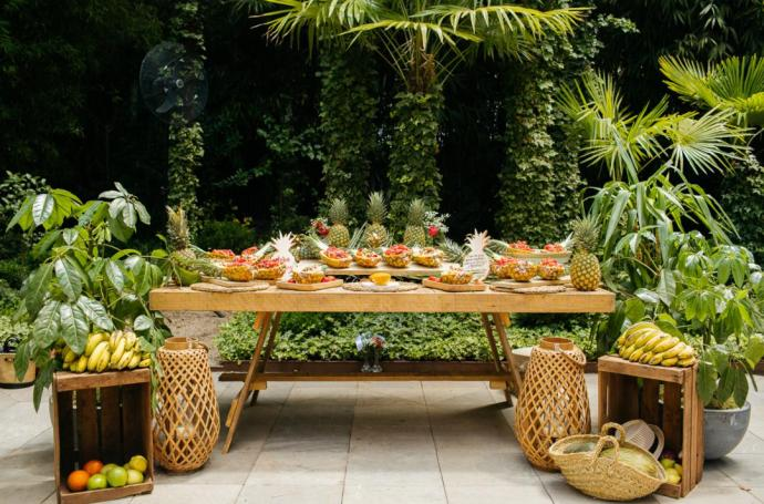 Boda tropical ideas decoracion boda tematica tripical catering boda calista summer party 2018
