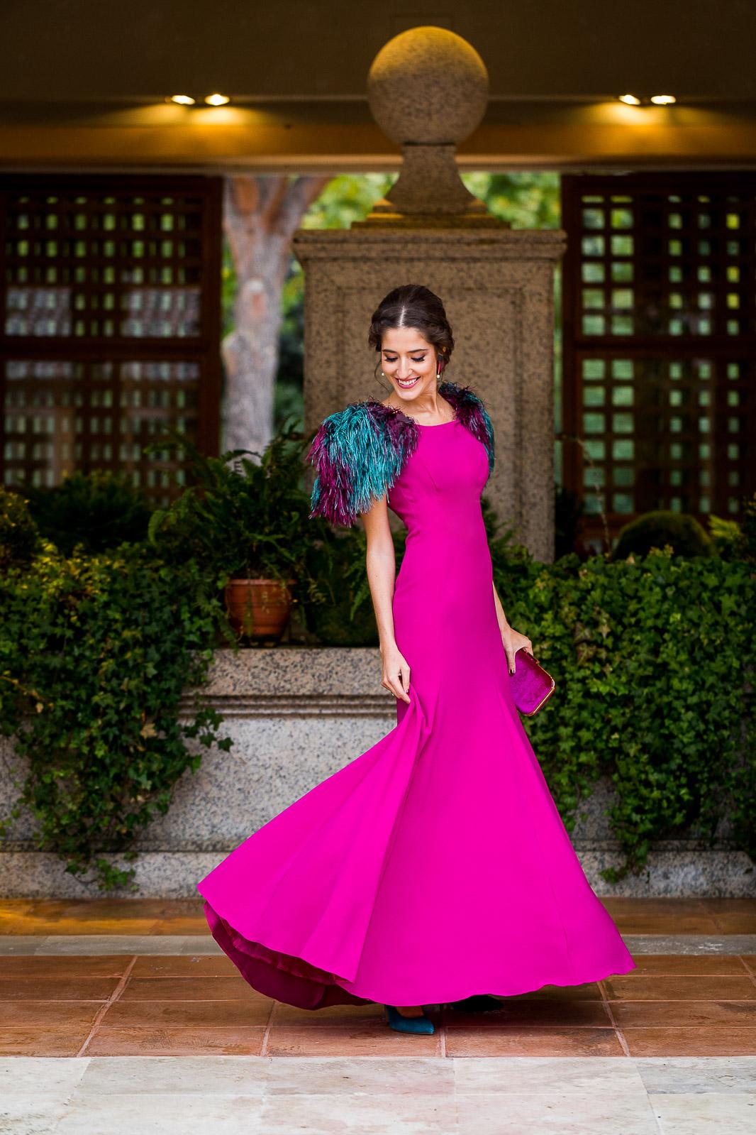 Vestidos de boda invitadas noche