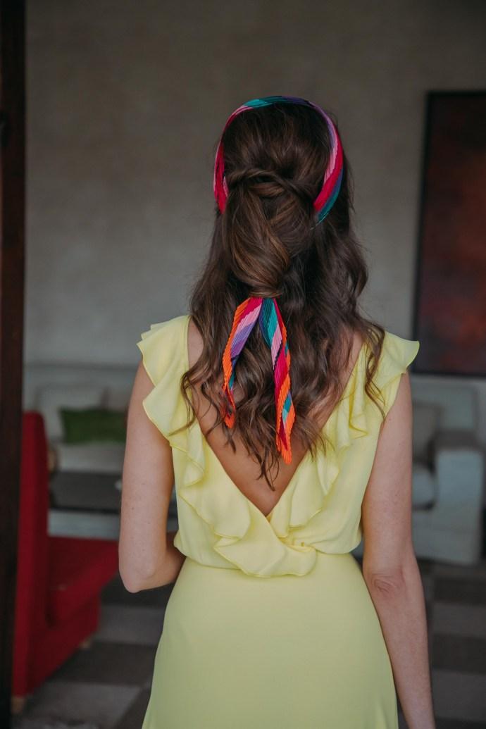 Peinado pañuelo invitada boda