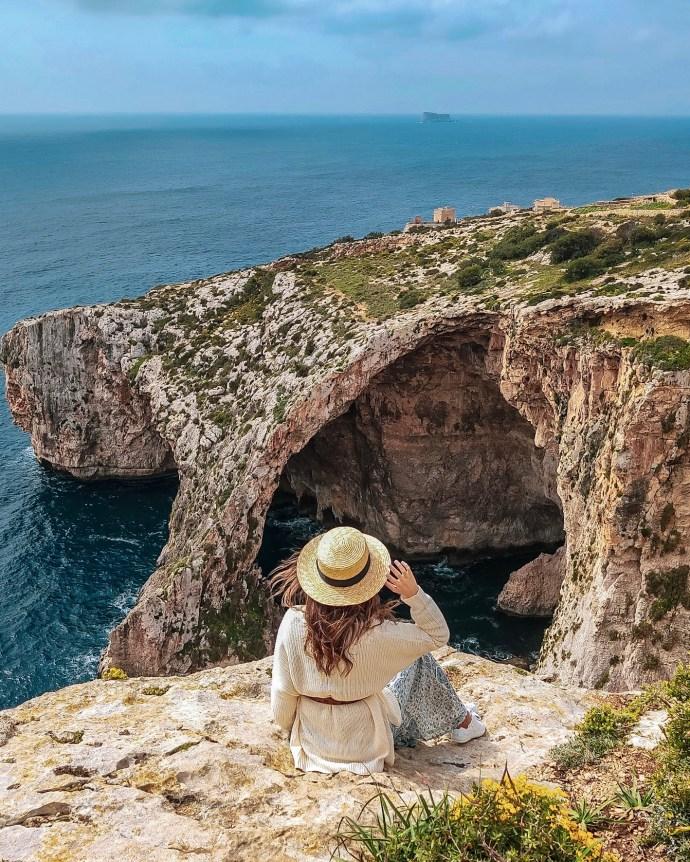 Blue Grotto Malta cuevas