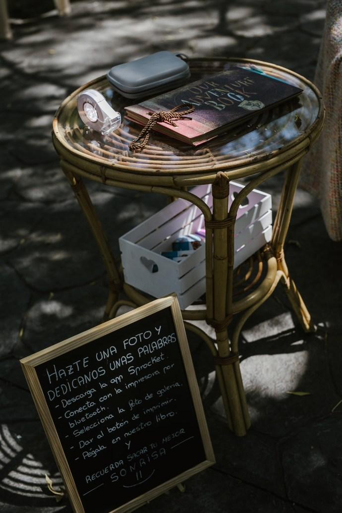 Libro de firmas boda fotos