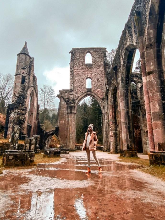 Abadía de Allerheiligen selva negra