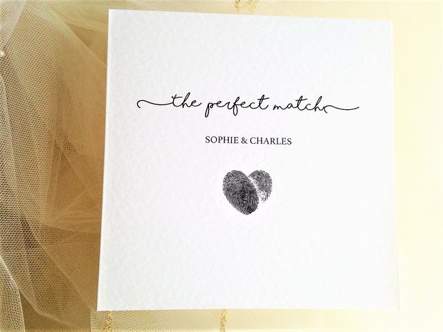 Perfect Match Wedding Invitations £1.25 each