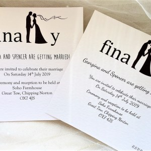 Finally Square Wedding Invites