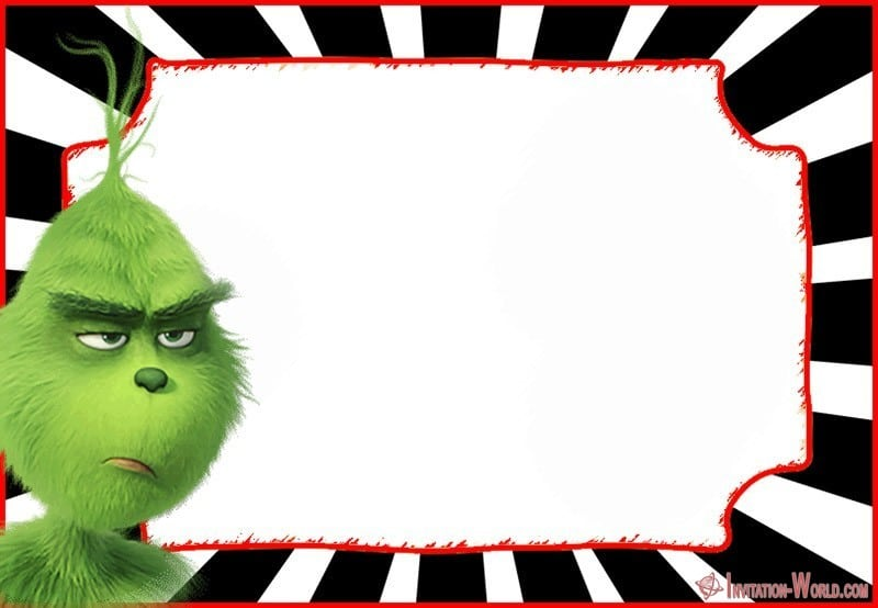 The Grinch 2018 Invitation Cards Invitation World