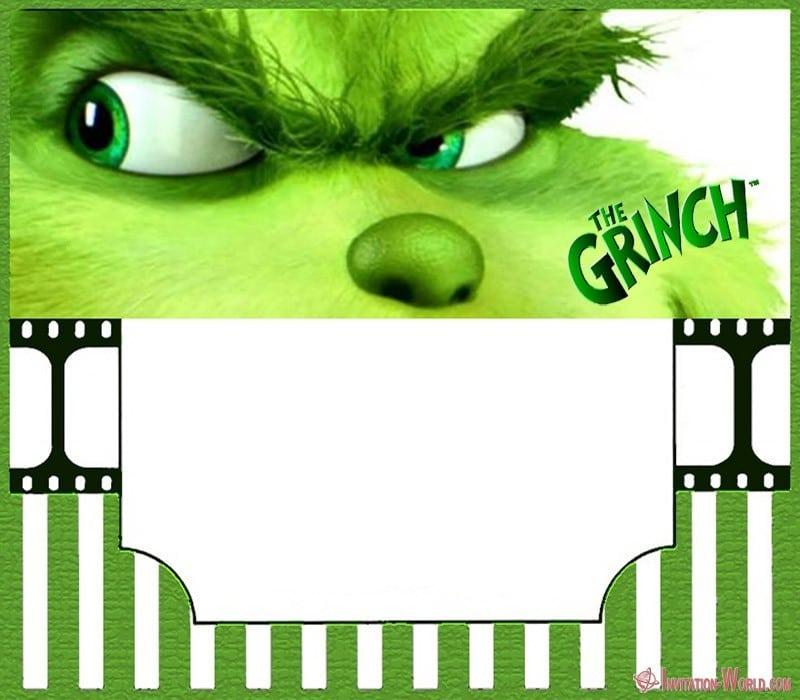 The Grinch 2018 Invitation Cards Invitation World