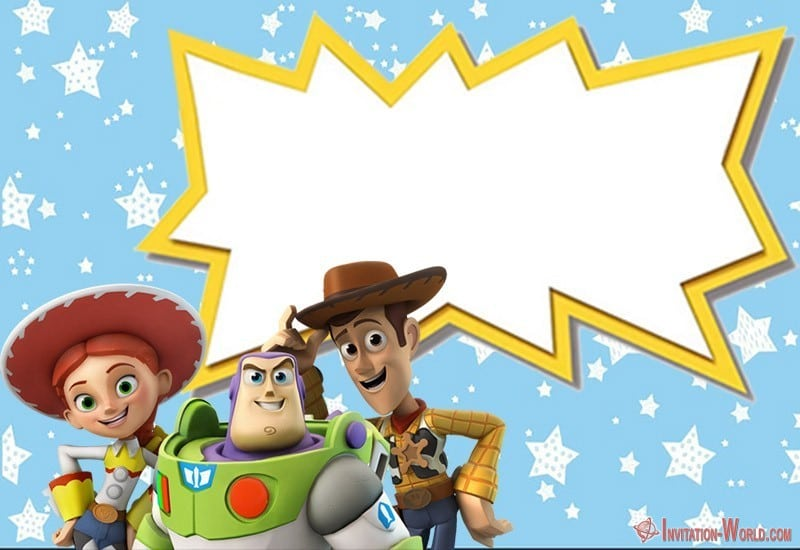 toy story invitations free download