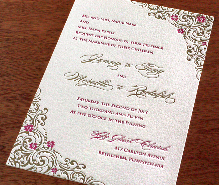 Using Positive Es And Poetry In Your Wedding Invitations