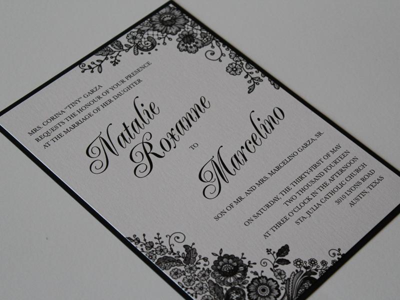 Print Wedding Save Dates