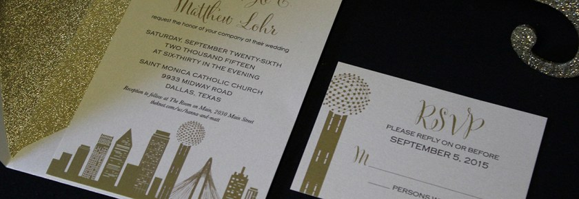 Wedding Invitations Austin Texas