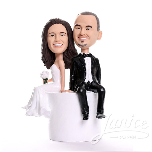 bobblehead wct0001 Janice wedding bobblehead couples now available at invitationsng.com