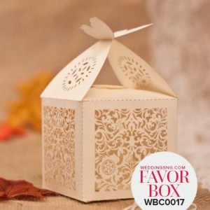 Elegant Floral Wedding Favor Boxes WBC0017 for occasions and events at invitationcards.ng