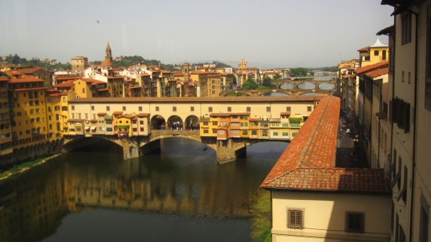 View from the Uffizi