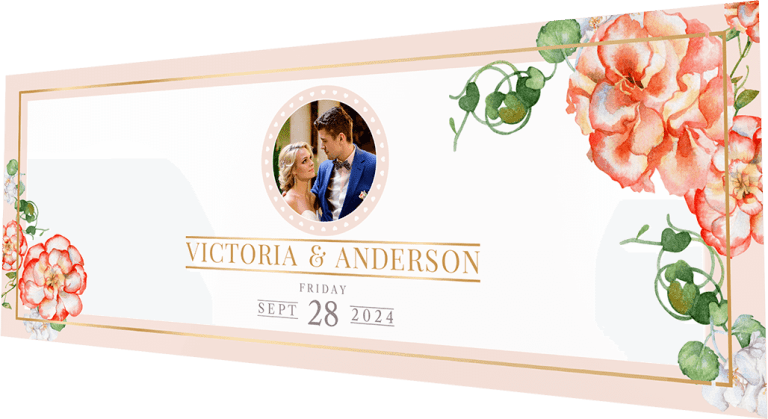 Wedding Anniversary Invitation- Invites Cafe