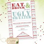 Eat Drink Ugly Sweater