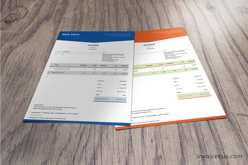 Html Invoice Template Free Invoice Example  Download Medical Invoice     HTML Invoice Template Lope   Html invoice template free download create  online store