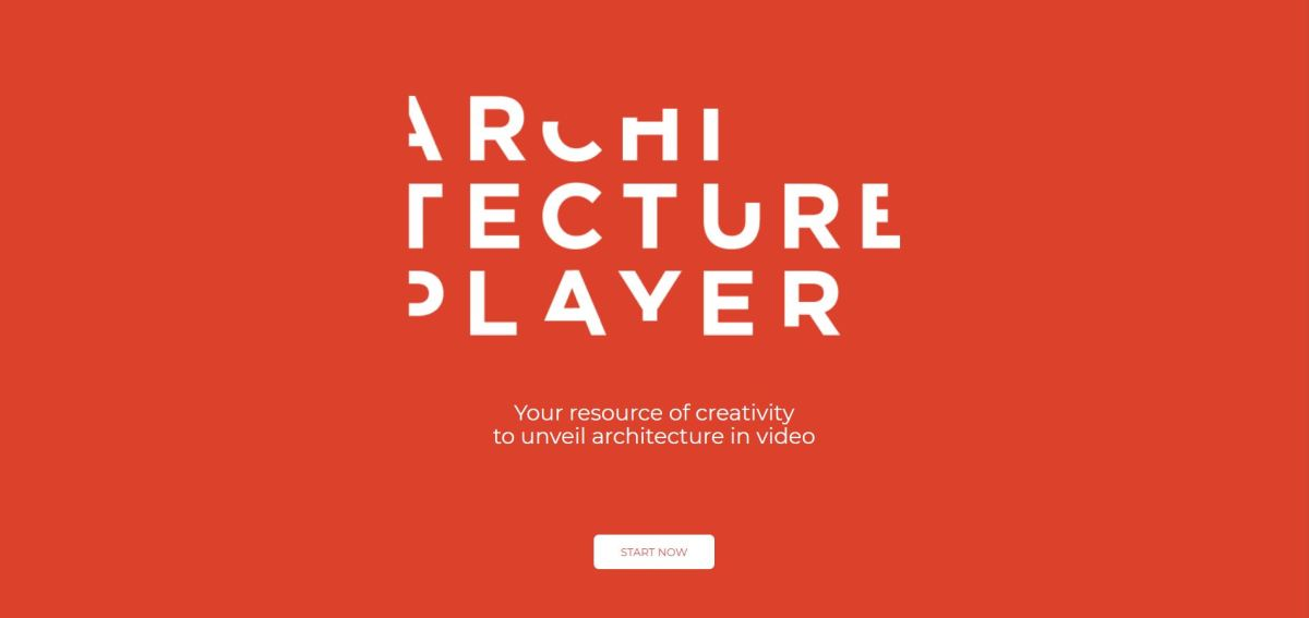 Snapshot from Architecture Player's homepage