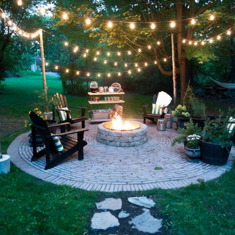 Backyard Fire Pit Ideas and Designs for Your Yard, Deck or ... on Backyard Yard Design  id=97132