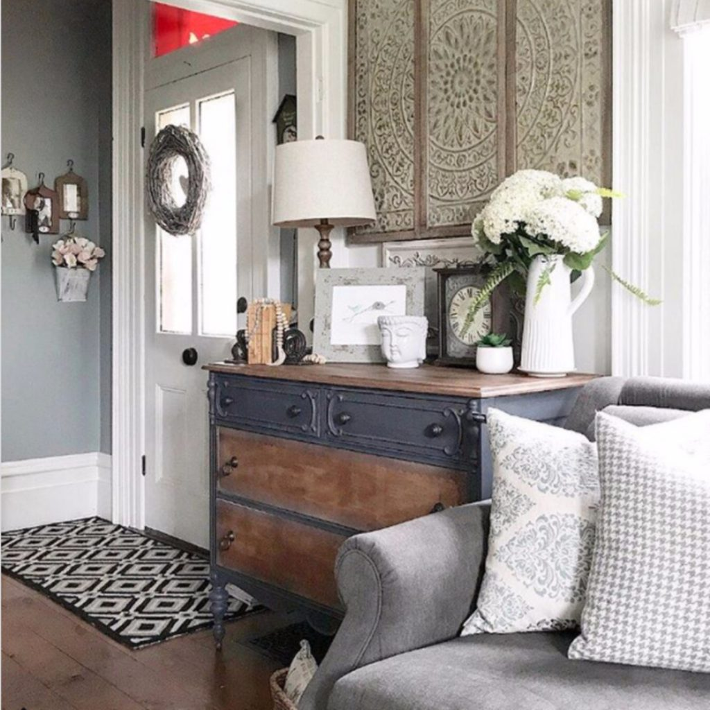 "{Farmhouse Living Rooms} • Modern Farmhouse Living Room ... on ""Room Decor""  id=28837"