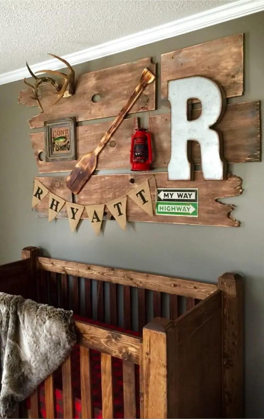 Rustic Country Baby Room Ideas Novocom Top