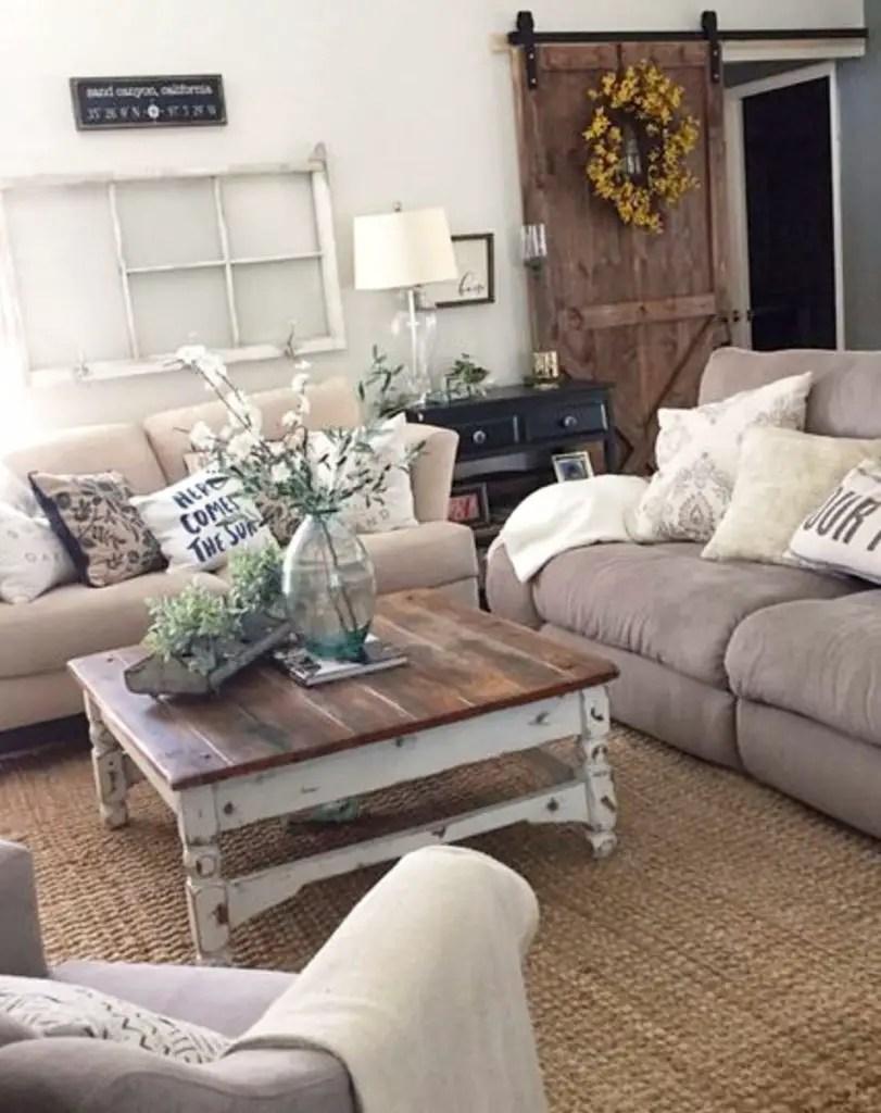 farmhouse living rooms modern farmhouse living room on colors for farmhouse living room id=91891