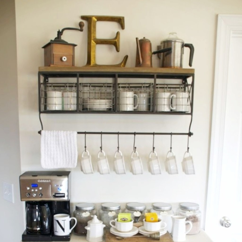 Magnificent Home Coffee Bar Ideas Inspiration - Home Decorating ...