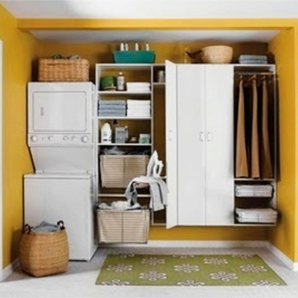 38+ Creative Storage Solutions for Small Spaces (Awesome ... on Small Apartment Organization  id=14263